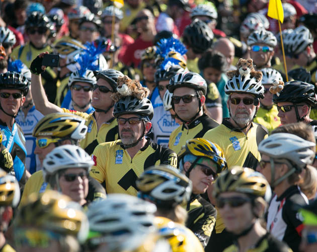 Ride to Conquer Cancer riders